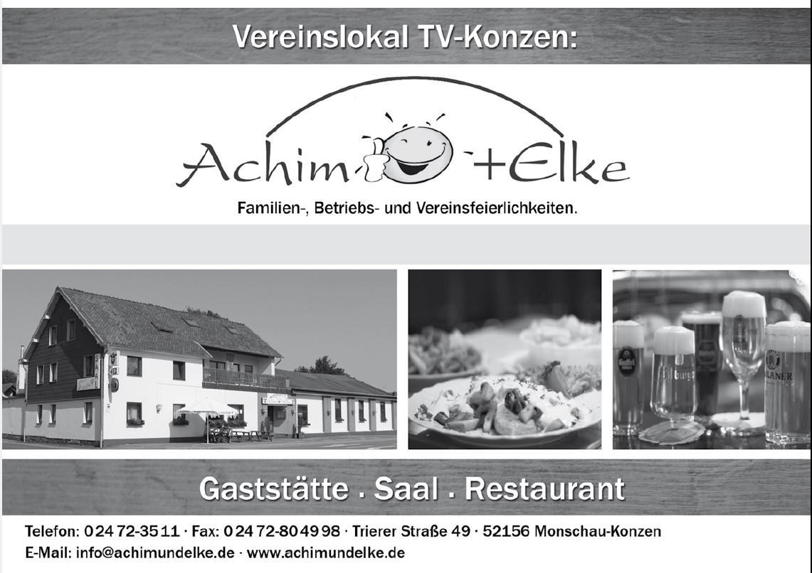 Vereinslokal Achim und Elke